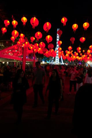 Red Lantern Glow - NoodleFest 2015