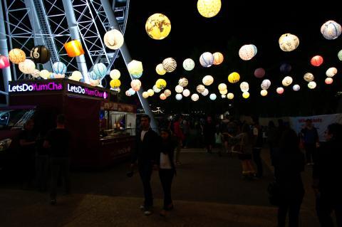 Lantern Glow - NoodleFest 2015