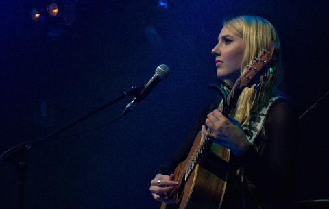 Georgia Mae playing live at the Met, Brisbane - 04/02/2016