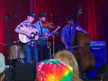 One Up Two Down - bluegrass trio - Woodford 2015
