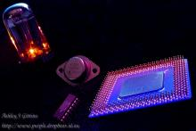 Vacuum tubes, Transistors, Integrated Circuits and Microprocessors - a rapid progression that has changed so much of our world in the last 50 years. This image earned 1st place in the open category of
