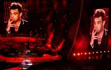 I have a theory about Robbie Williams. I think that he's addicted to the rush he gets from performing - let's face it, performing in front of a crowd _is_ a great rush. I think that when he's not doing it, his body aches for a replacement and it's all downhill from there.